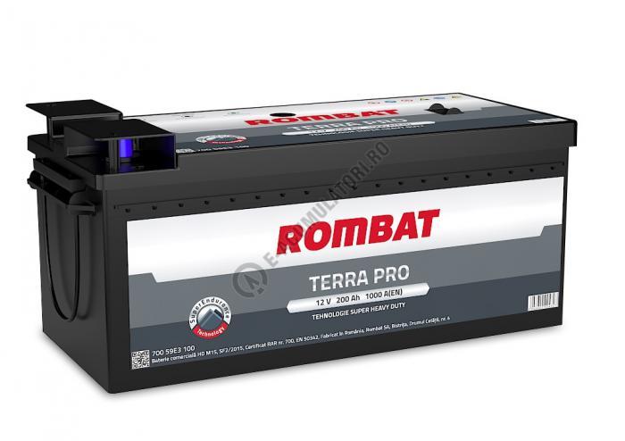 Bateria Auto Rombat Terra-Pro 12 V 200 Ah cod M15-big