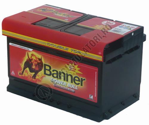 Baterie Auto Banner Power Bull 80 ah cod P8014-big