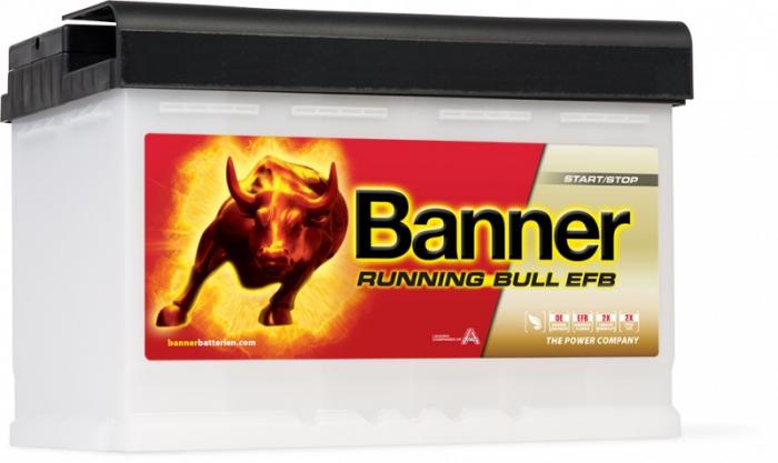 Baterie Auto Banner Running Bull EFB 70 Ah cod 57011-big