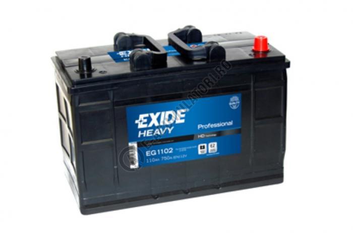 Baterie Auto EXIDE Professional 110 Ah cod EG1102-big