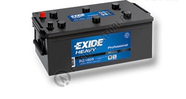 Baterie Auto EXIDE Professional 140 Ah cod EG1403-big