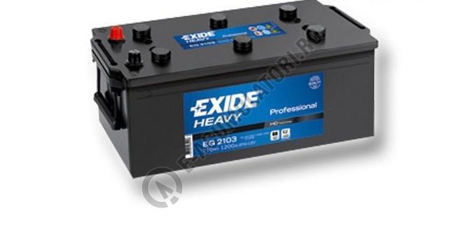 Baterie Auto EXIDE Professional 210 Ah cod EG2103-big
