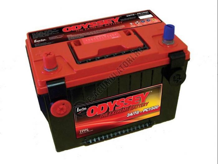 Baterie Auto ODYSSEY Deep Cycle 62 Ah cod PC1500DT-big