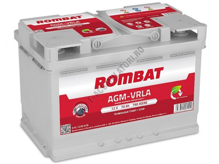 Baterie Auto Rombat AGM VRLA 70 Ah-big