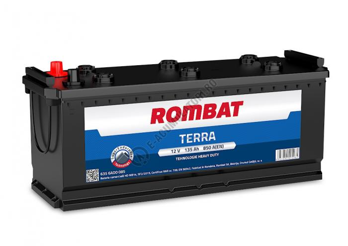 Baterie Auto Rombat Terra 12 V 135 Ah cod B14-big