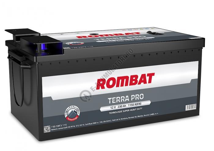 Baterie Auto Rombat Terra-Pro 12 V 230 Ah cod M16-big
