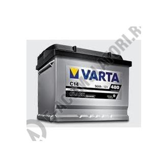 BATERIE AUTO VARTA BLACK 56 Ah cod C14 - 5564000483122 Logan benzina-big