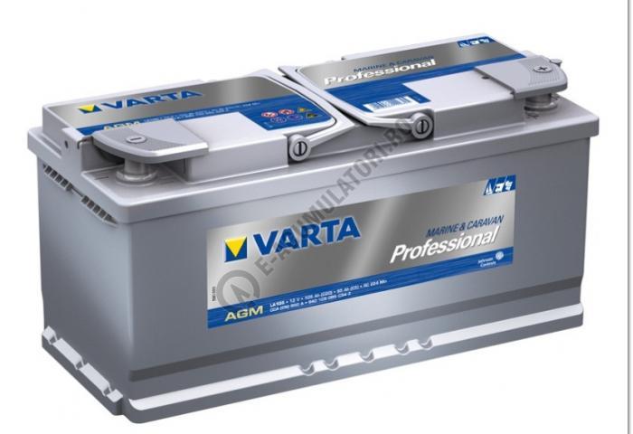 BATERIE AUTO VARTA PROFESSIONAL AGM 105 Ah cod LA 105 -840105095C542-big