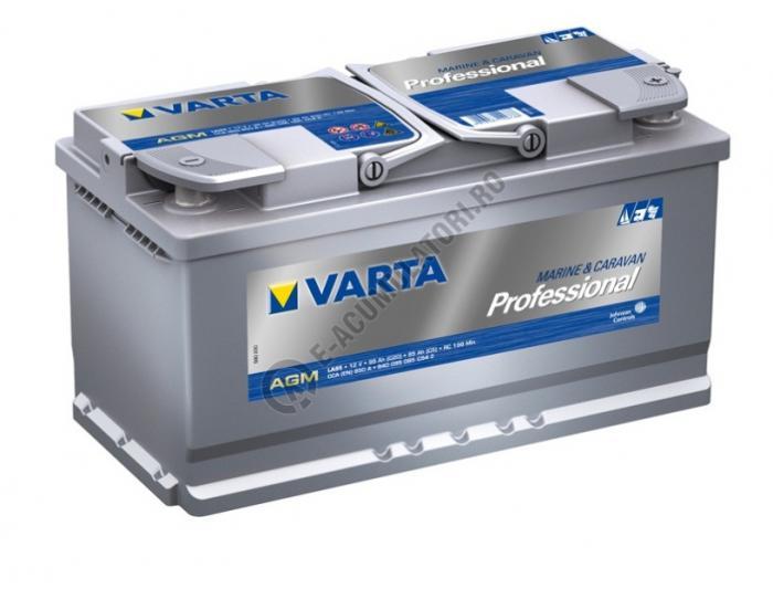 BATERIE AUTO VARTA PROFESSIONAL AGM 95 Ah cod LA 95 - 840095085C542-big