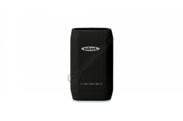 Acumulator extern Ednet Power Bank 6600mAh cod 31887-big