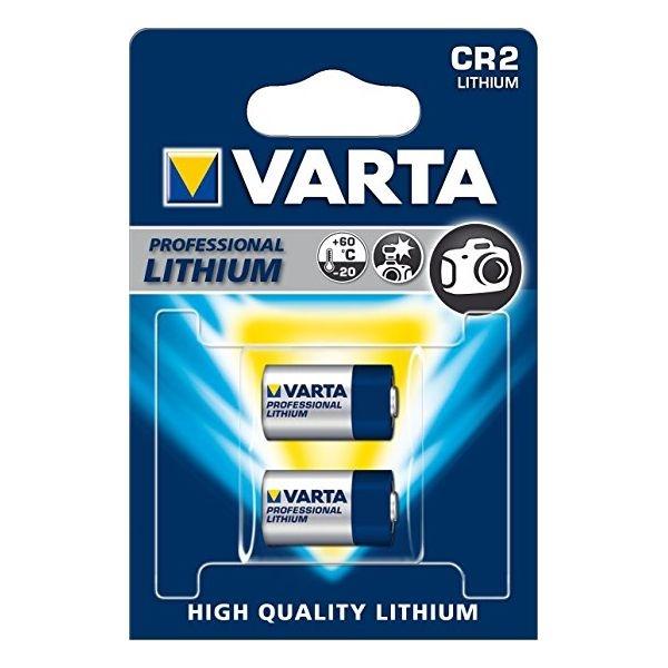 Baterie litiu Varta 3V CR2 blister 2 buc-big