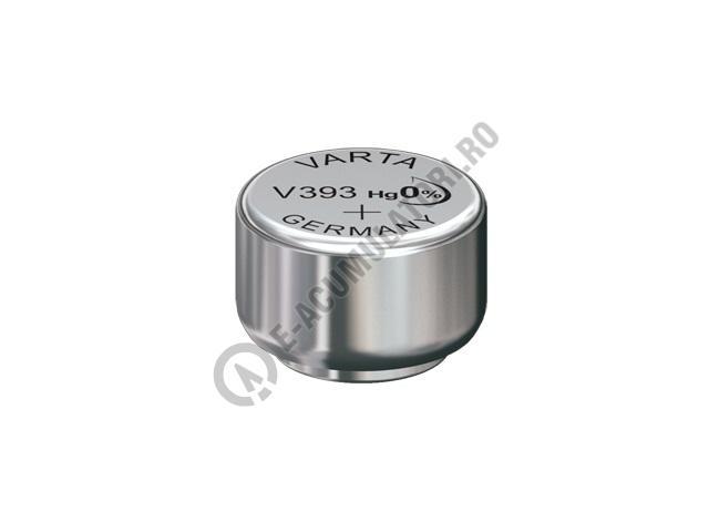 Baterie silver Varta V393, blister 1 buc-big