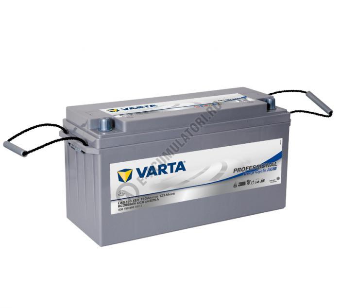 Baterie Varta Professional DC AGM LAD150 12 V 150 Ah cod 830150090B922-big