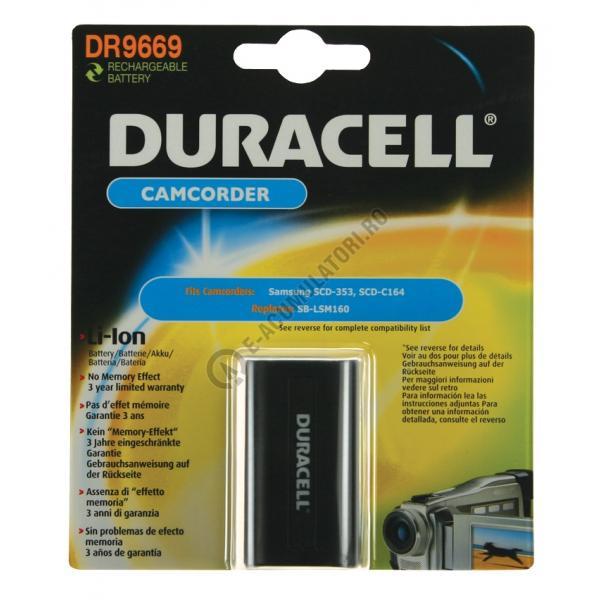 Acumulator Duracell DR9669 pentru camere video-big