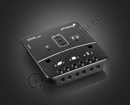 Controlor incarcare solara  Phocos CMLup,12/24 V 20/20 A, USB-Port, ROHS cod CMLup20-big