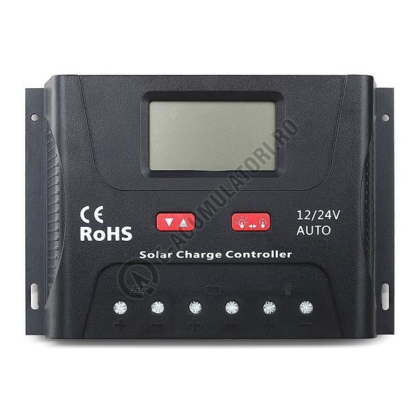 Controller solar Powersave PWM 60A 12/24V SR-HP2460-big