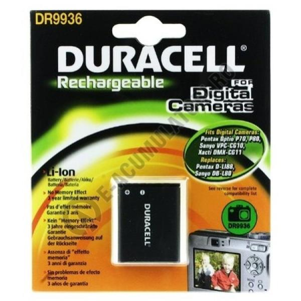 Acumulator Duracell DR9936 pentru camere digitale-big