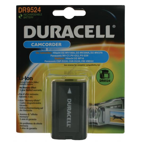 Acumulator Duracell DR9524 pentru camere video-big