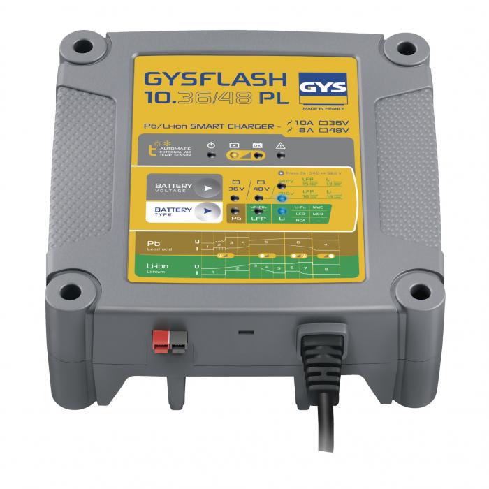 Incarcator redresor universal Plumb Litiu LIFEPO4 GYS cu protectie IP43 - 027060-big