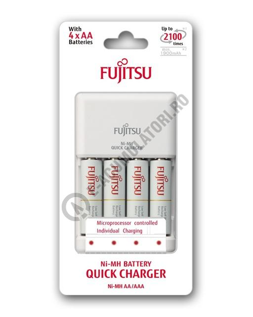 Incarcator Fujitsu include 4 acumulatori AA,1900 mAh  FCT344CEFX(CL)-big