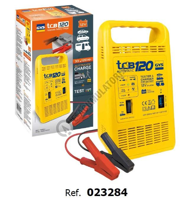 Incarcator si redresor Automat GYS TCB 120 cod 023284-big