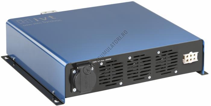 Invertor Digital IVT undă sinusoidală DSW-2000-Synchro/12 V cod 430109-big