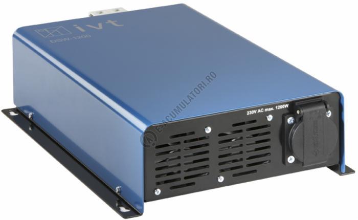 Invertor Digital IVT undă sinusoidală DSW1200-24V cod 430106-big