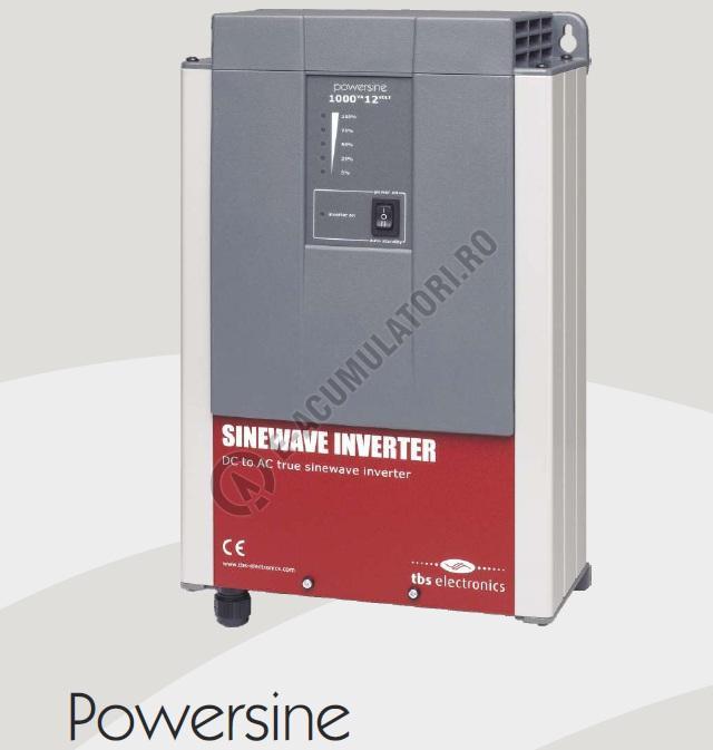 INVERTOR PROFESIONAL TBS POWERSINE 1400-24 PUR SINUS DC/AC-big