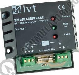 IVT Solar Charge Controller 12/24V 8 A cod 200033-big