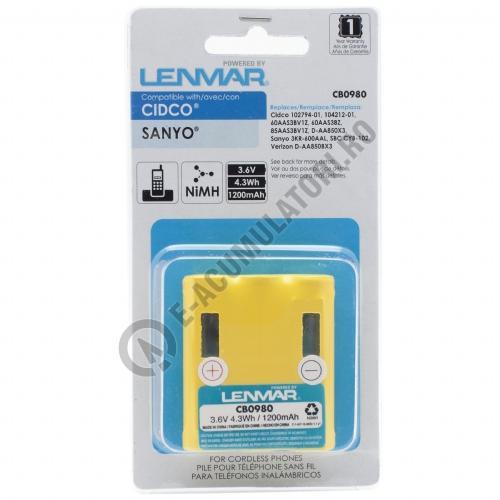 Lenmar Replacement Battery for Cidco CL-940, CL-980, CL-990, CL-991 Cordless Phones-big