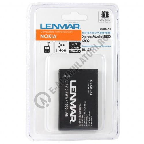 Lenmar Replacement Battery for Nokia 5800 XpressMusic,5802 XpressMusic Cellular Phones-big