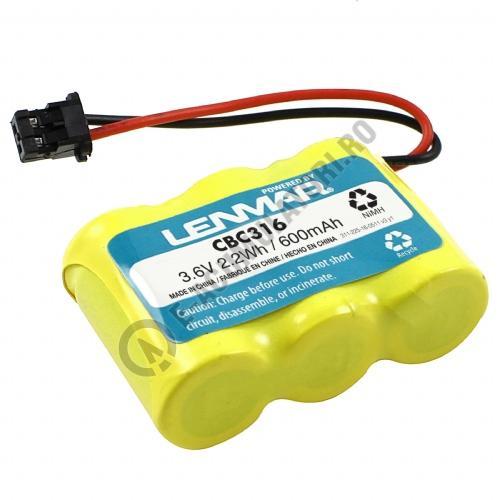 Lenmar Replacement Battery for Panasonic KX-TCM410, Sony SPP-AQ25, SPP-AQ600, Toshiba FF-675, FT-6203, TRB-6500 Cordless Phones-big