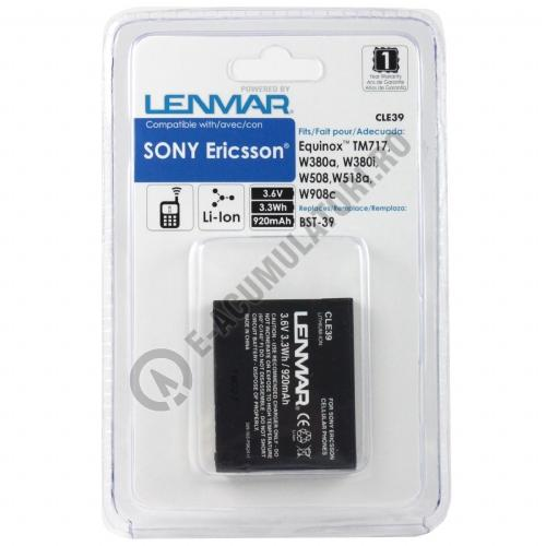 Lenmar Replacement Battery for Sony Ericsson W380 Series Cellular Phones-big