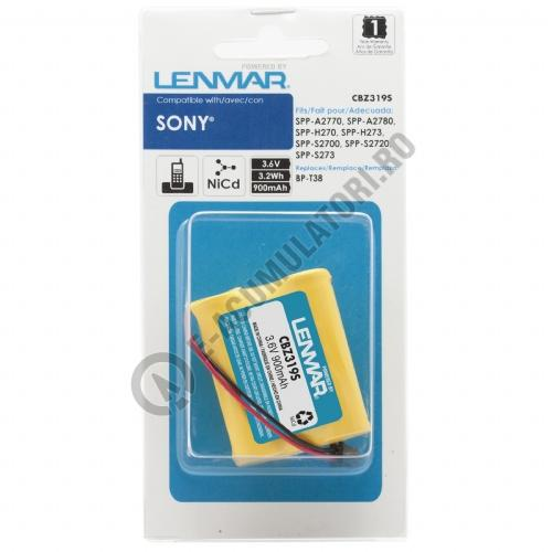 Lenmar Replacement Battery for Sony SPP-S2700 Cordless Phones-big