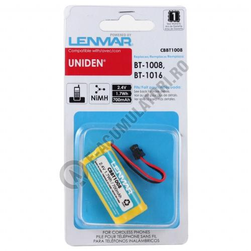 Lenmar Replacement Battery for Uniden 1560 Series, 1580 Series, 1588 Series, 2060 Series, 2080 Series Cordless Phones-big