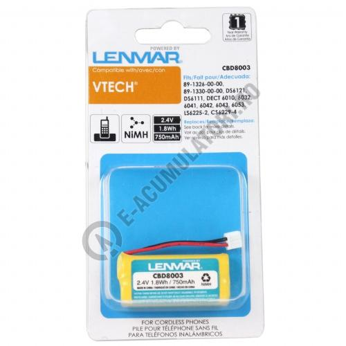 Lenmar Replacement Battery for V-Tech 6010, 6031, 6032, 6041, 6042 Cordless Phones-big