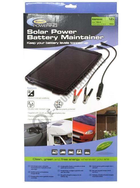 Panou solar RING RSP240 pentru mentenanta acumulatori-big