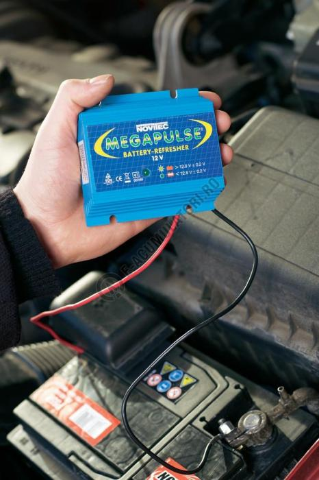 Regenerator acumulatori auto Novitec Megapulse 12 V-big