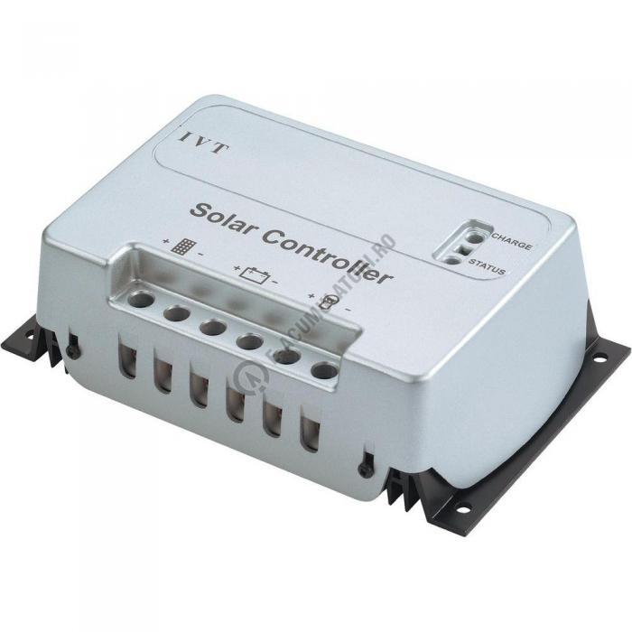 Regulator solar de încărcare cu microcontroler IVT SC 30 A, 12/24 V cod 200016-big