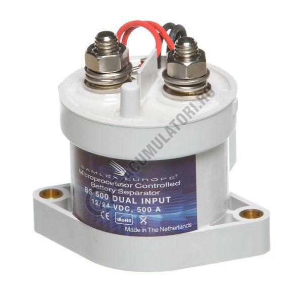 Separator automat de incarcare baterii 12/24V SAMLEX cod BS 500 DUAL-big