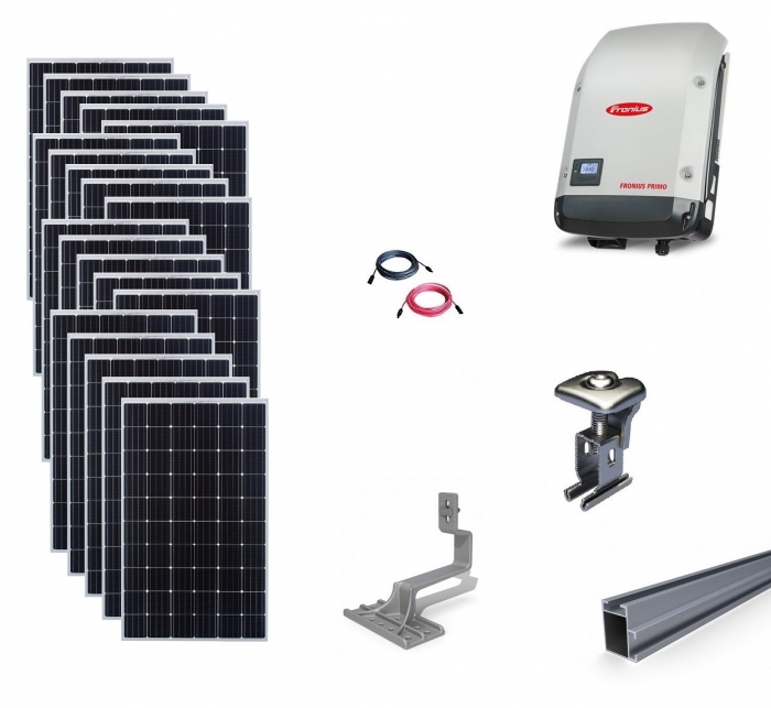 Sistem fotovoltaic on-grid Fronius 6kwp prindere tigla-big