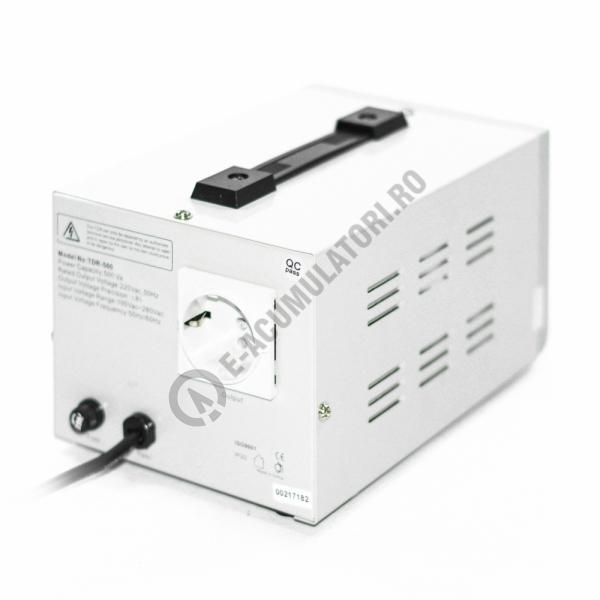 Stabilizator cu transformator 500VA/300W Power Sistem TDR500-big