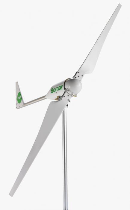 Turbina eoliana Bornay 3000 W 48V 2 lame si controller digital B3000/48-big