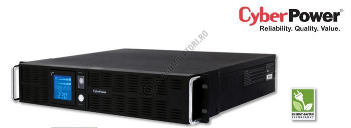 UPS Rackabil Cyber Power PR2200ELCDRT2U Line-Interactive 2200VA 1600W AVR, LCD Display, 8 IEC OUTLETS, USB & Serial port-big
