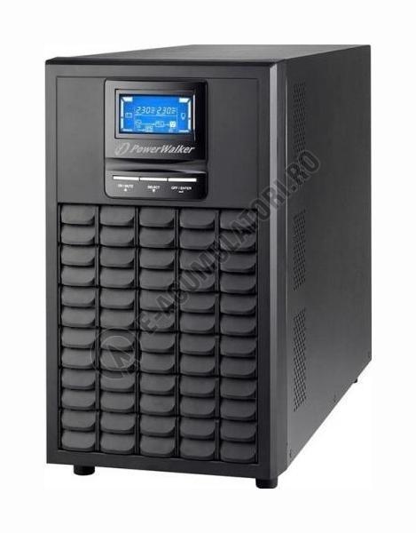 UPS Powerwalker on-line pur sinus 3000VA/2400W, 6xIEC, 6x12V/9Ah VFI3000LCD-PW-big