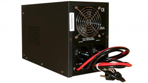 UPS pt Centrala Termica 500VA Sinus HD 400w Power Sistem + Acumulator 12V 72 Ah-big