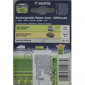 Acumulatori Varta C R14 Baby NiMH 3000 mAh bl 2 buc1