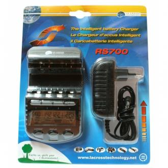 Incarcator inteligent LaCrosse multifunctional RS700-BLI AA/AAA3