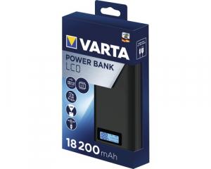 Baterie externa Varta 18.200mAh, ecran LCD, culoare antracit 579722
