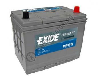 Acumulator Auto Exide ASIA Premium 75 Ah cod EA7540
